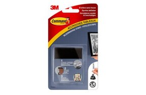 3M COMMAND PICTURE HANGING STRIPS BLACK